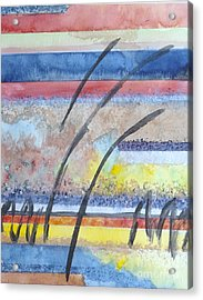 Acrylic Print featuring the painting Heartbeat by Jacqueline Athmann