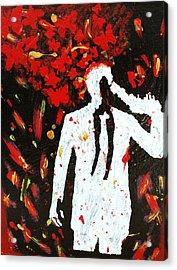 Heartbreak  Acrylic Print by April Harker