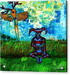 Heartland Ghosts Acrylic Print by Ed Tajchman