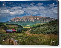Heartland Of The Colorado Rockies Acrylic Print by Michael J Bauer