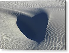 Hearts In The Desert Acrylic Print