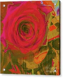 Hearts 'n Flowers-what Quarrel Acrylic Print