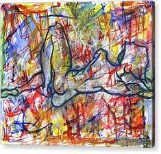 Heartsong Acrylic Print by Samir Patel