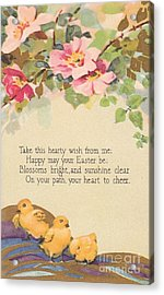 Hearty Wish Acrylic Print
