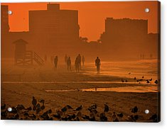 Acrylic Print featuring the photograph Heat Waves by John Knapko