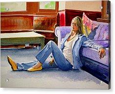 Heather   Acrylic Print