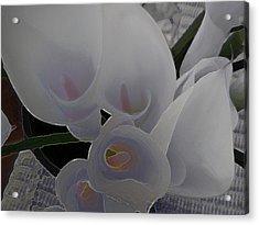 Heather's Flowers Acrylic Print
