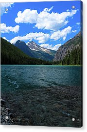 Heavan's Peak From Avalanche Lake Acrylic Print