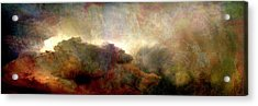 Heaven And Earth - Abstract Art Acrylic Print