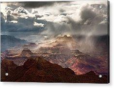 Heaven And Earth Acrylic Print by Adam Schallau