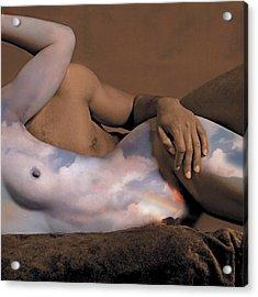 Heaven And Earth Acrylic Print by Fern Logan