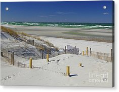 Heaven At Mayflower Beach Acrylic Print