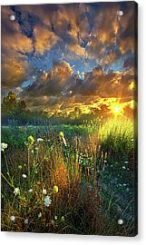 Heaven Knows Acrylic Print