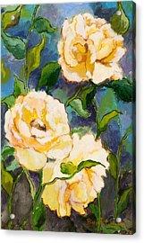 Heaven On Earth Roses Acrylic Print by Brenda Williams