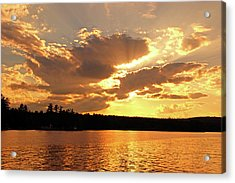 Acrylic Print featuring the photograph Heaven Shining by Lynda Lehmann