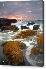 Heavenly Dawning Acrylic Print by Mike  Dawson