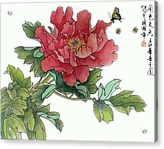 Heavenly Flower Acrylic Print