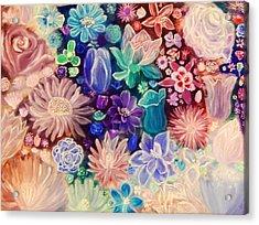 Heavenly Garden Acrylic Print