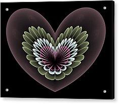 Heavenly Heart Acrylic Print