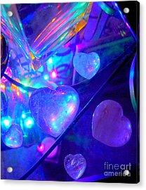 Heavenly Hearts Acrylic Print