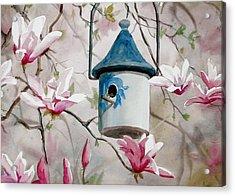 Heavenly Home Acrylic Print by Faye Ziegler