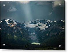 Acrylic Print featuring the photograph Heavenly Lake Louise by William Lee