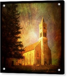 Heavenly Light Acrylic Print