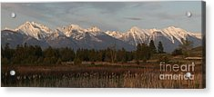 Heavenly Mission Panorama Acrylic Print
