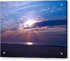 Acrylic Print featuring the photograph Heavenly Skies by Brian Wright