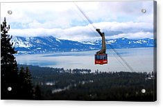Heavenly Tram South Lake Tahoe Acrylic Print