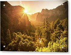 Heavenly Valley Acrylic Print