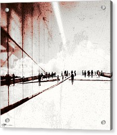 Heavenly Walk In Oslo 1 Acrylic Print by Marianne Hope