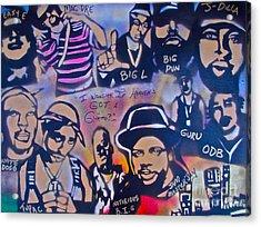 Heavens Ghetto Acrylic Print by Tony B Conscious