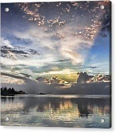 Heaven's Light - Coyaba, Ironshore Acrylic Print by John Edwards