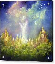 Heaven's Little Angel Acrylic Print by Marina Petro
