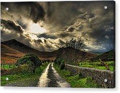 Heavens Path Acrylic Print by Kim Shatwell-Irishphotographer