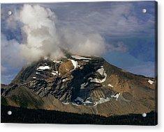 Heaven's Peak Acrylic Print by Marty Koch