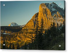 Acrylic Print featuring the photograph Heavy Runner Mountain by Gary Lengyel