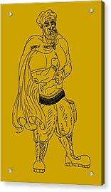Hebrew Hero Acrylic Print