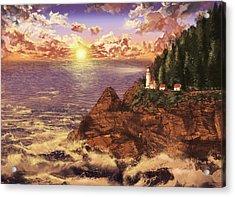 Heceta Head Light Acrylic Print