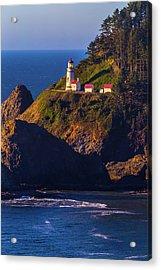 Heceta Head Oregon Lighthouse Acrylic Print by Garry Gay