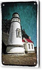 Hecitia Head Lighthouse Acrylic Print
