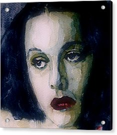 Hedy Lamarr Acrylic Print by Paul Lovering