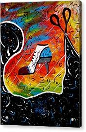 Heel Of Stars Acrylic Print by Kenal Louis
