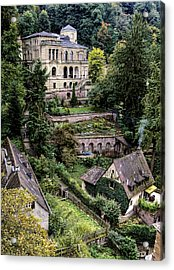 Acrylic Print featuring the photograph Heidelberg Hillside by Jim Hill