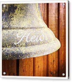 Heidi Bell Acrylic Print