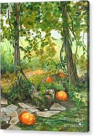 Heidi's Pumpkins Acrylic Print