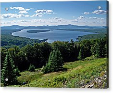 Height Of The Land Overlooking Mooselookmeguntic Lake Acrylic Print