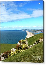 Heights Of Fortune Acrylic Print by Baggieoldboy