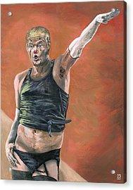 Heil Trumpf Acrylic Print